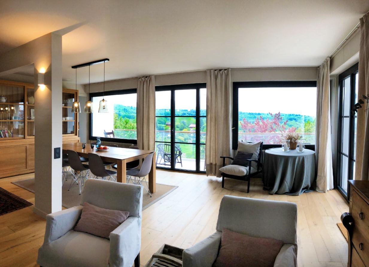 Annecy Location Villa Luxe Bowanite Salon 2