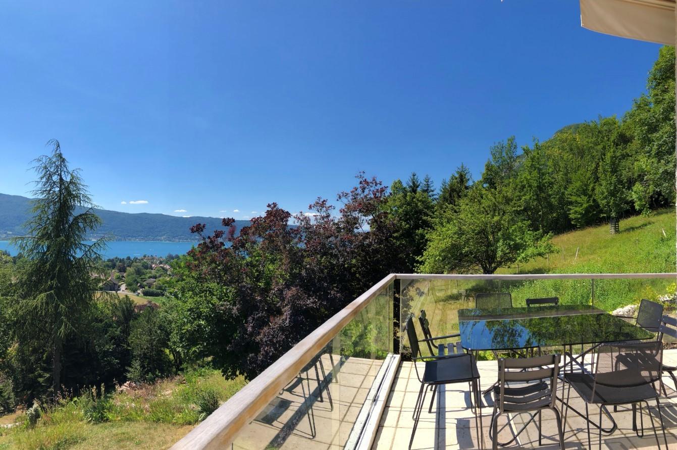 Annecy Location Villa Luxe Bowanite Terrasse