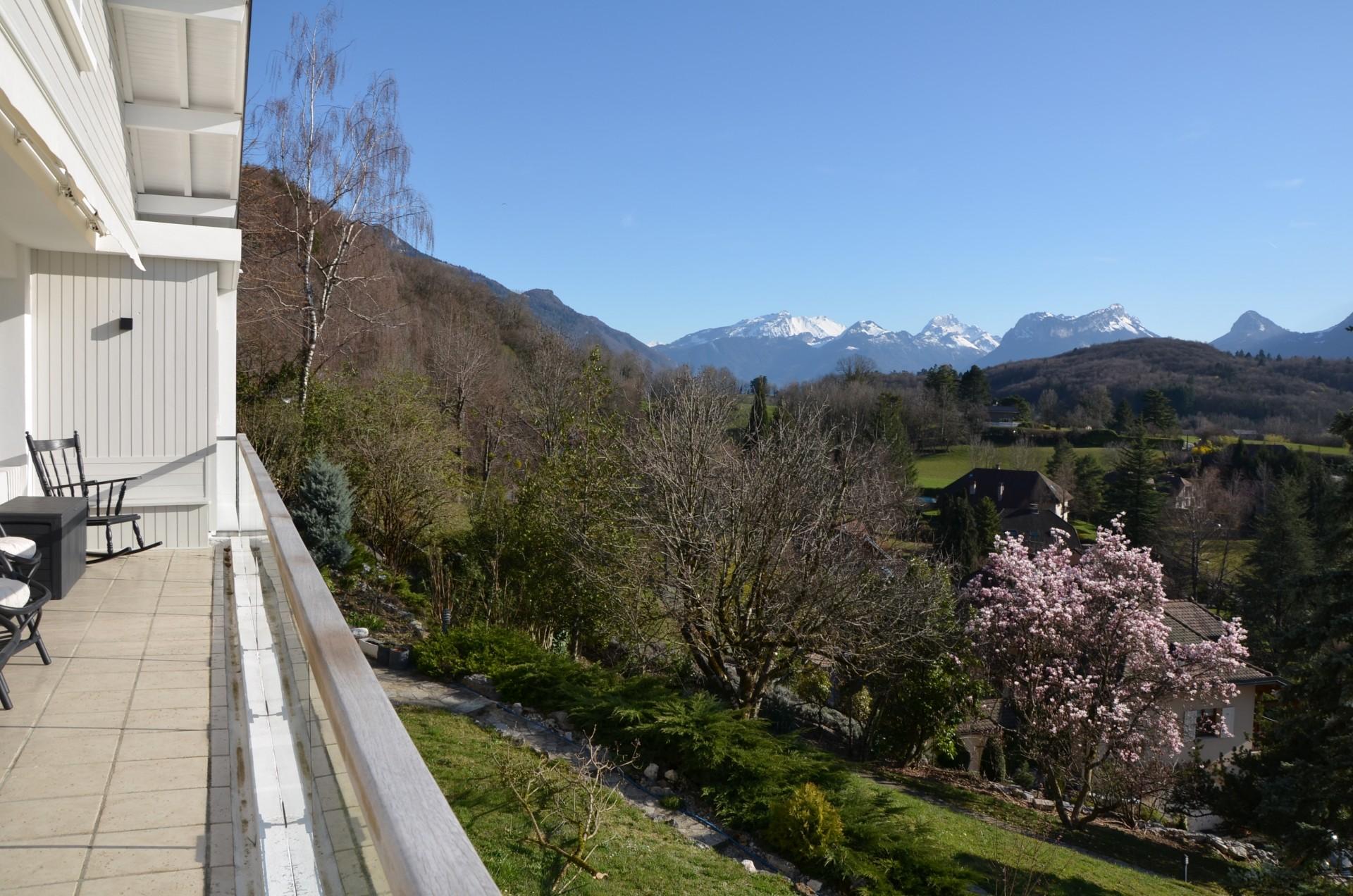 Annecy Location Villa Luxe Bowanite Vue