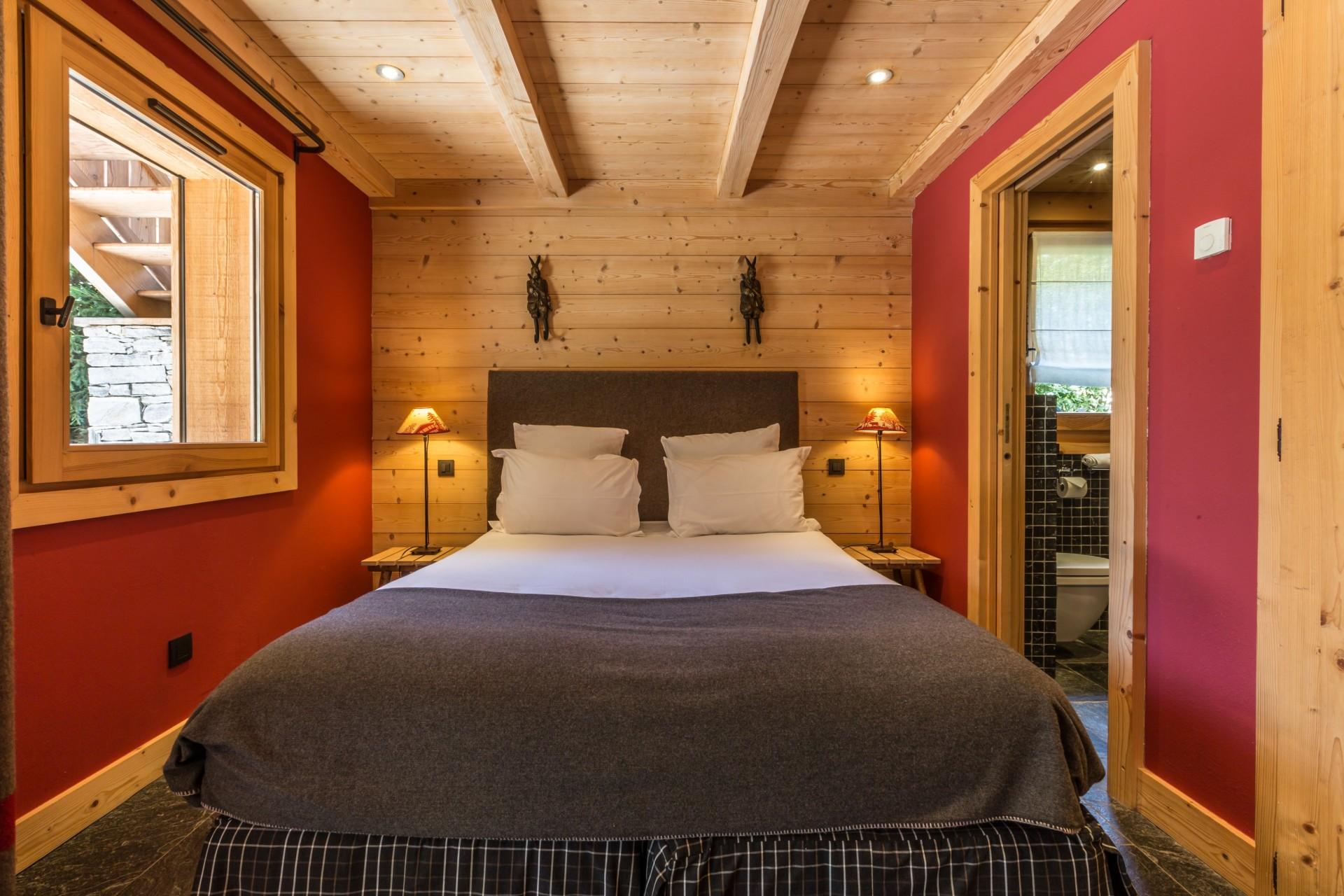 Argentière Location Chalet Luxe Calderite Chambre