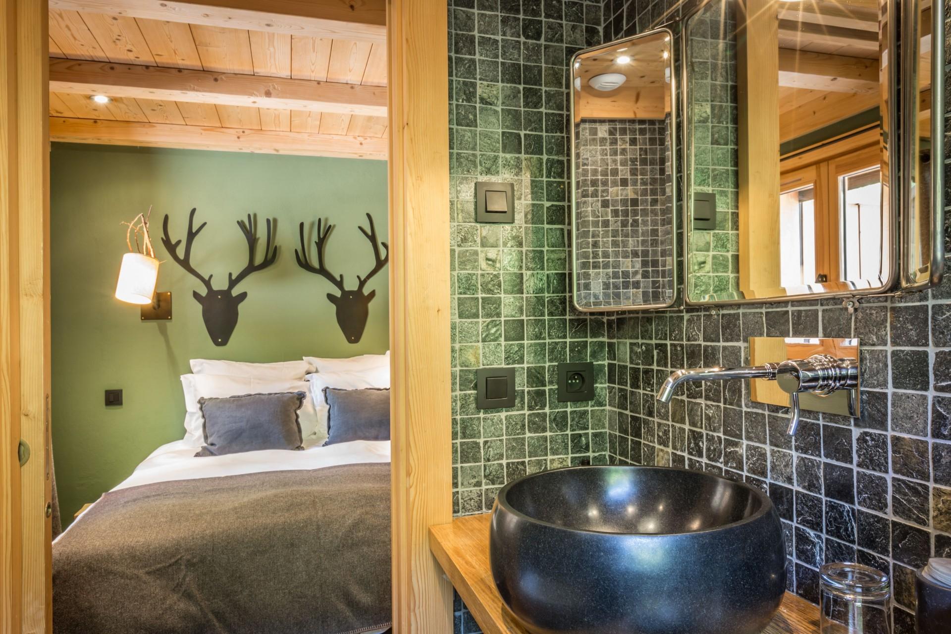 Argentière Location Chalet Luxe Calderite Chambre1