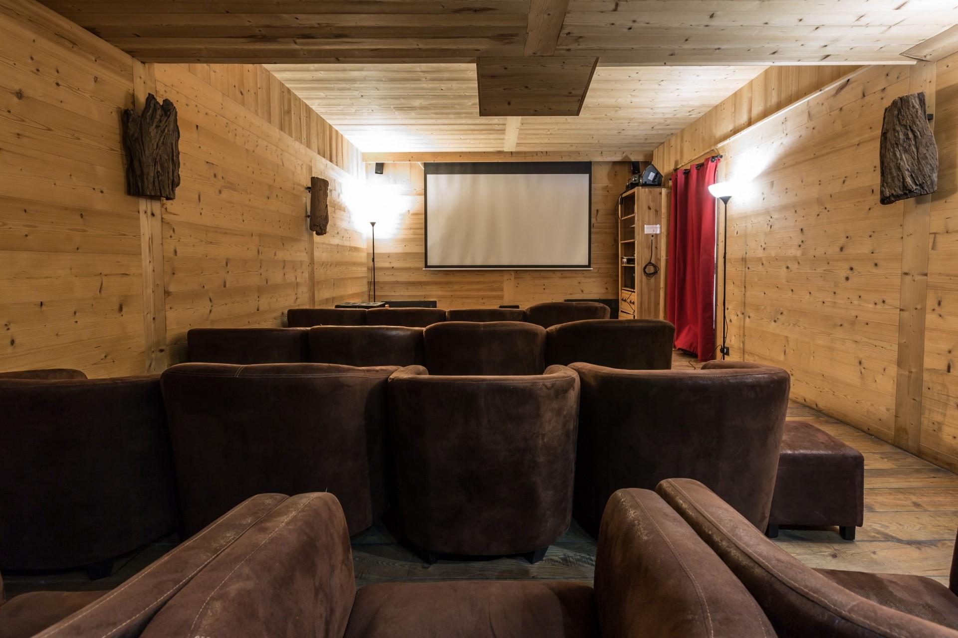 Argentière Location Chalet Luxe Calderite Cinéma