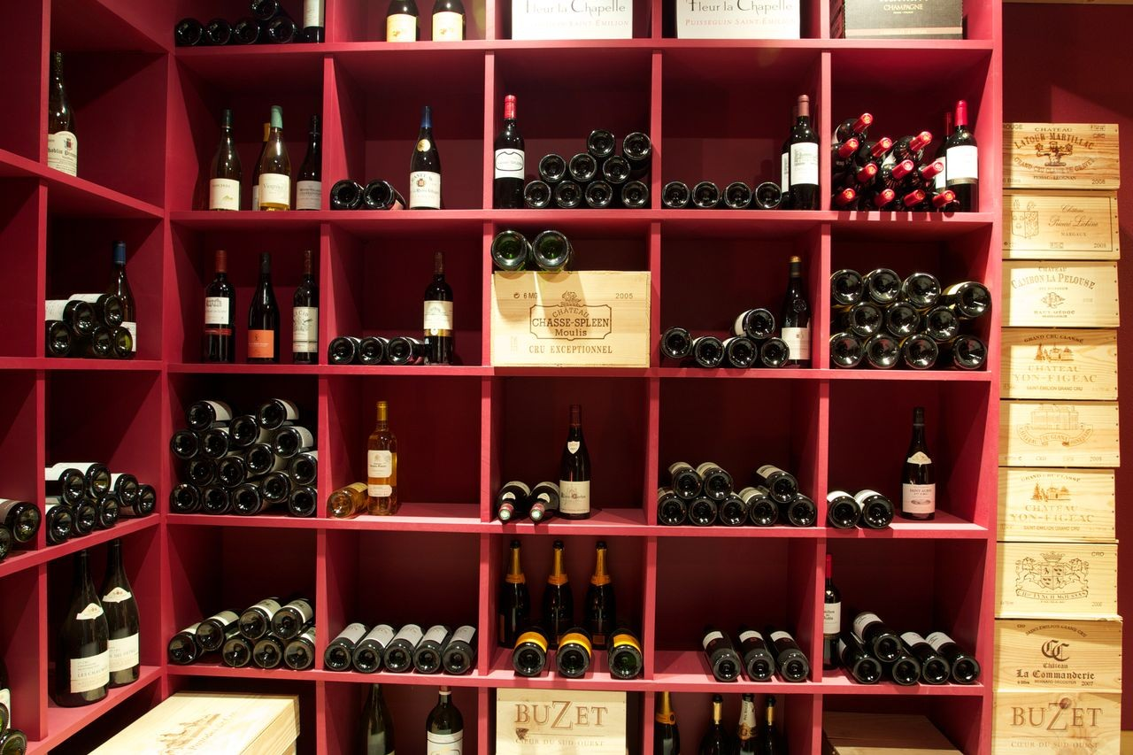Argentière Location Chalet Luxe Callainite Cave Vin