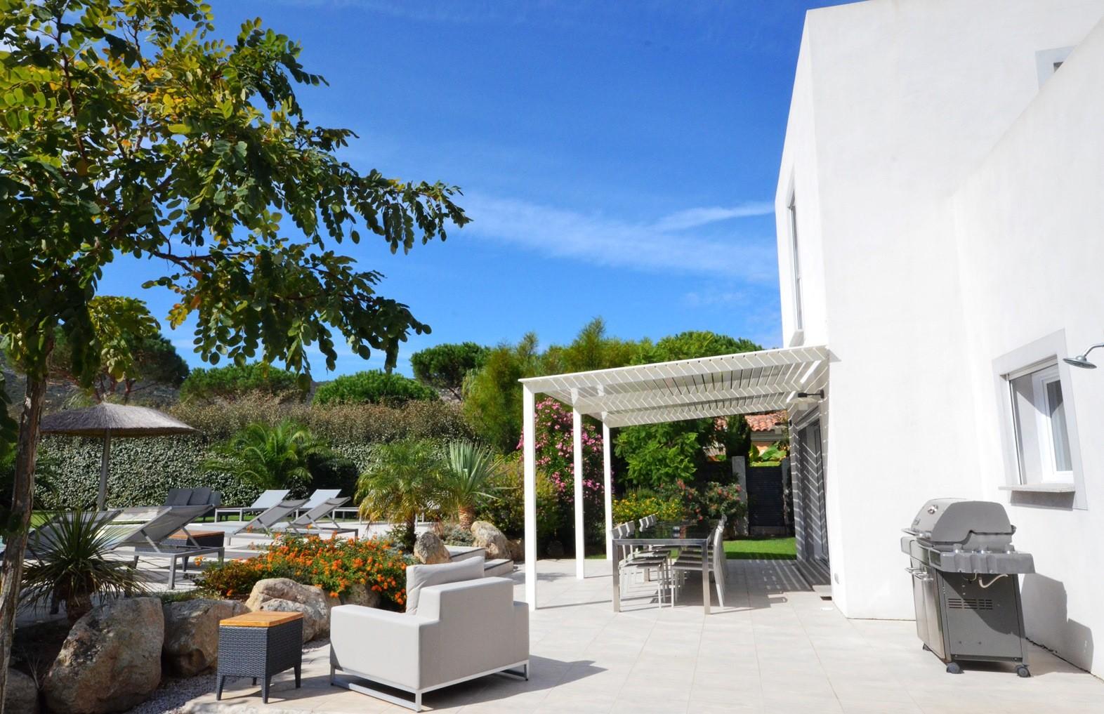 Calvi Location Villa Luxe Cresson Terrasse