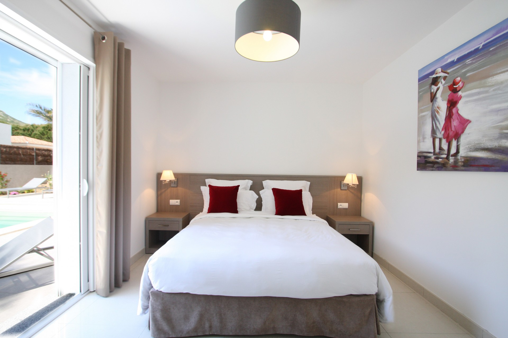 Calvi Location Villa Luxe Crisson Chambre 2