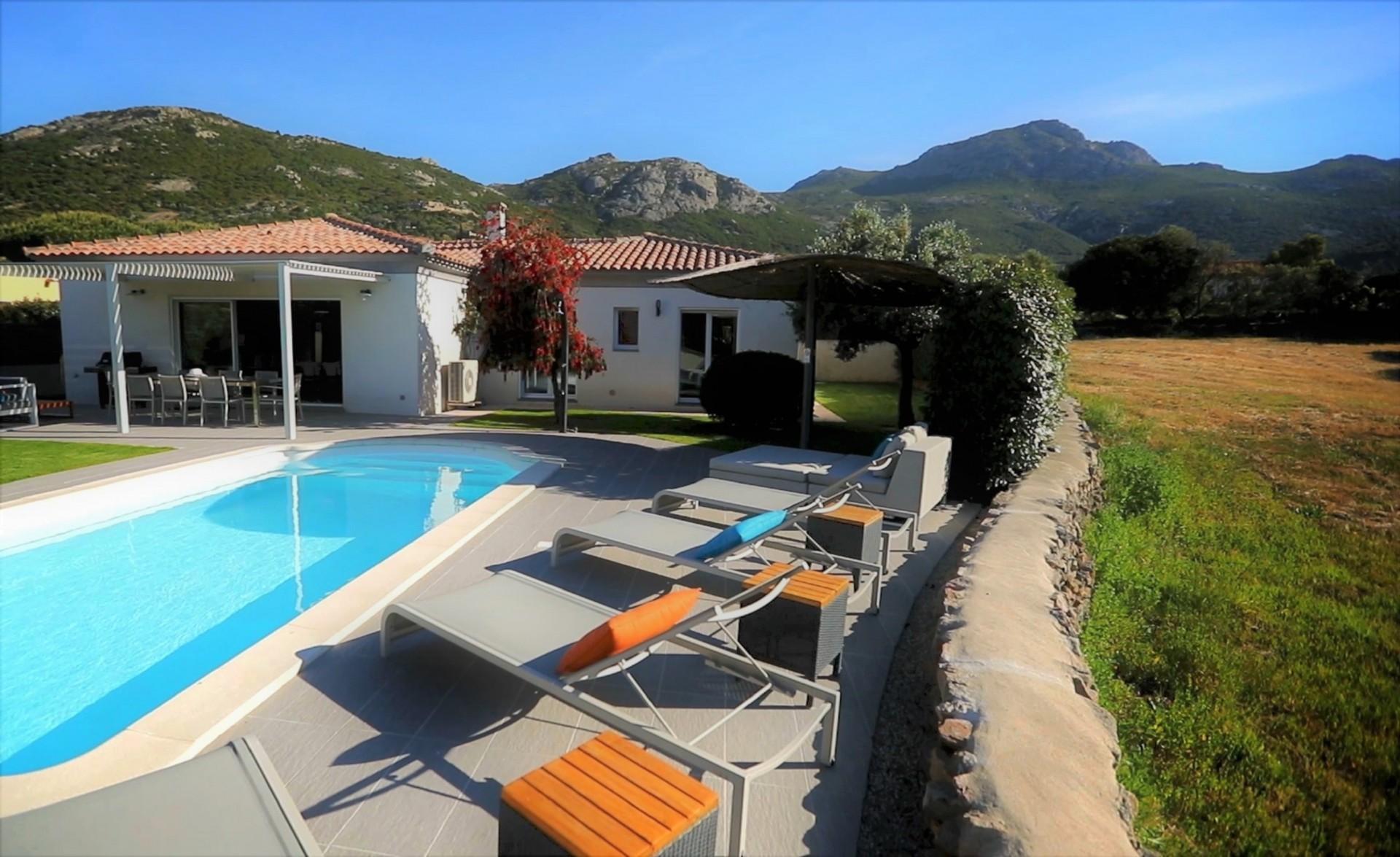 Calvi Location Villa Luxe Curcuma