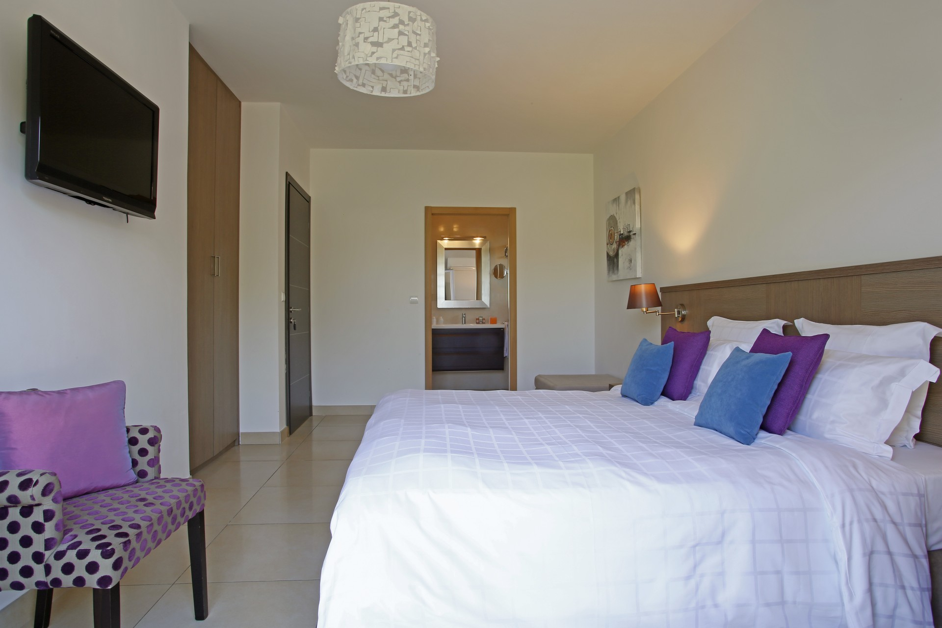 Calvi Location Villa Luxe Curry Chambre 2