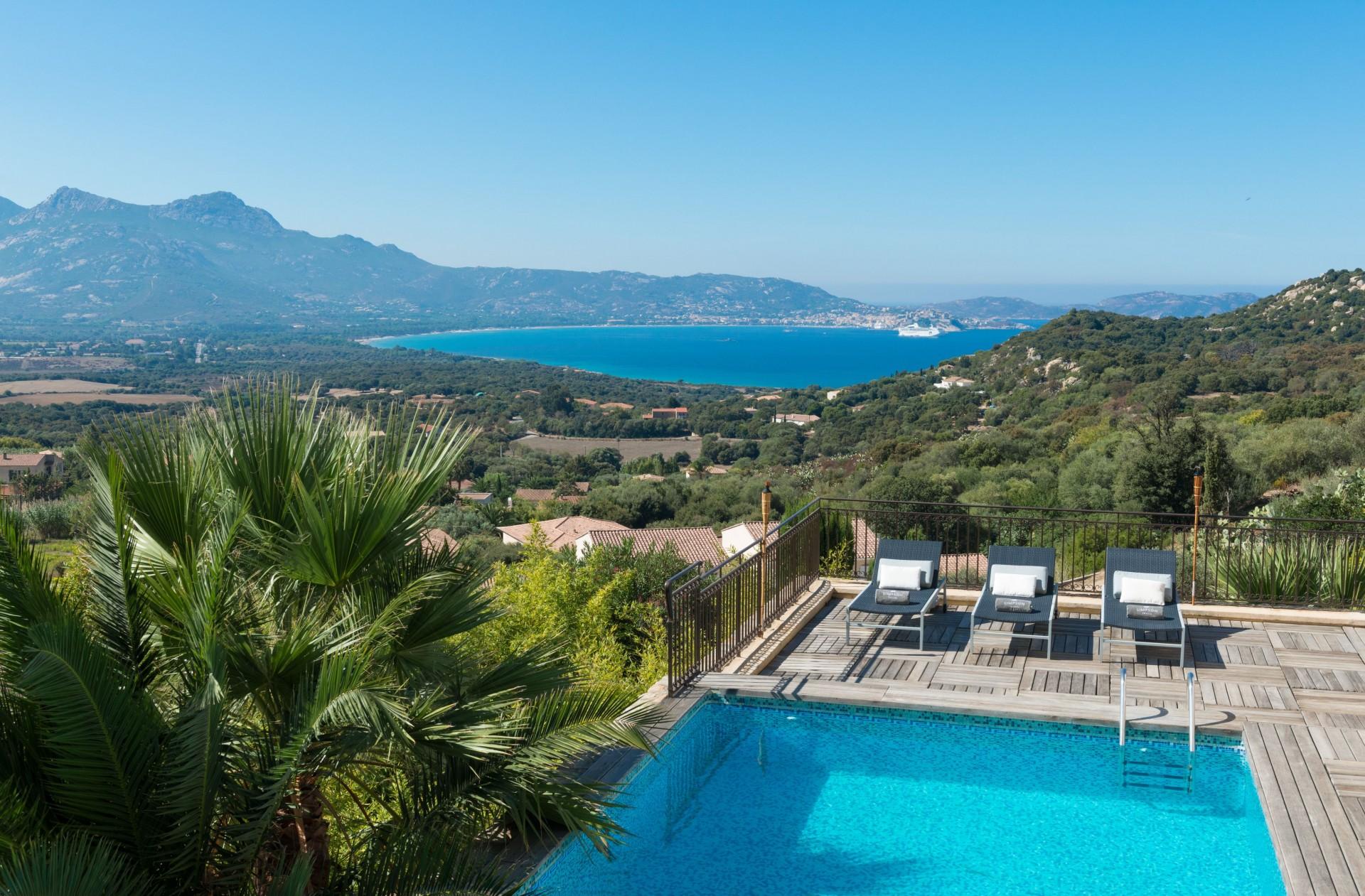 Calvi Location Villa Luxe Diademe Piscine 3