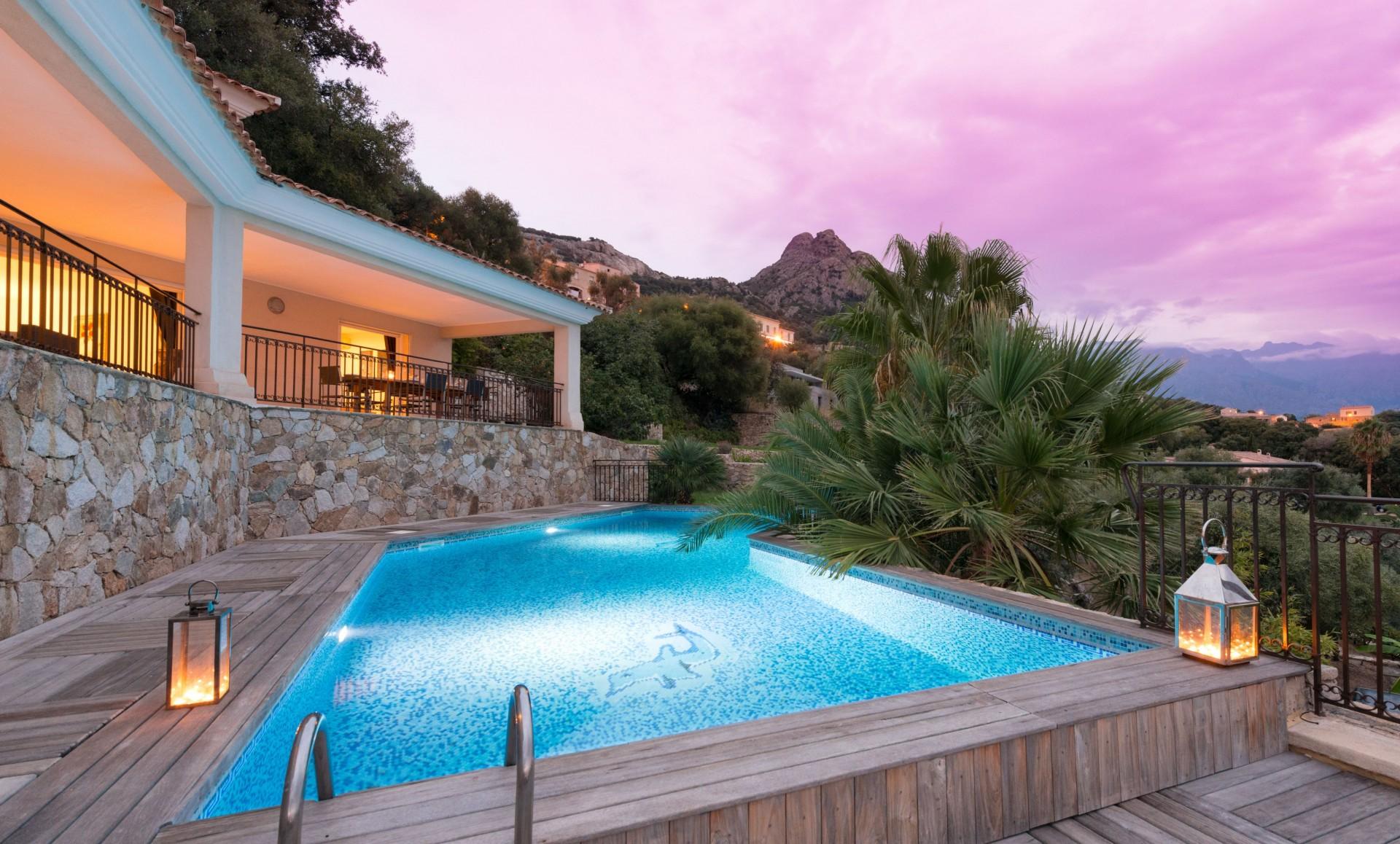 Calvi Location Villa Luxe Diademe Piscine 5