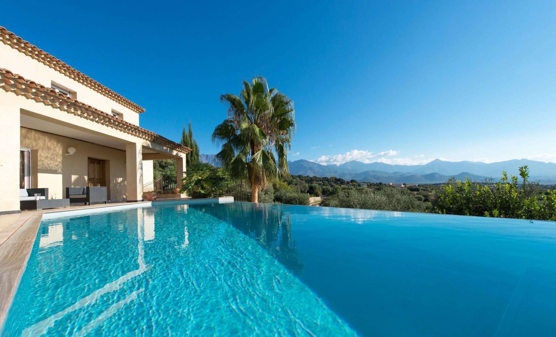 Calvi Location Villa Luxe Diademe Royal Piscine 4