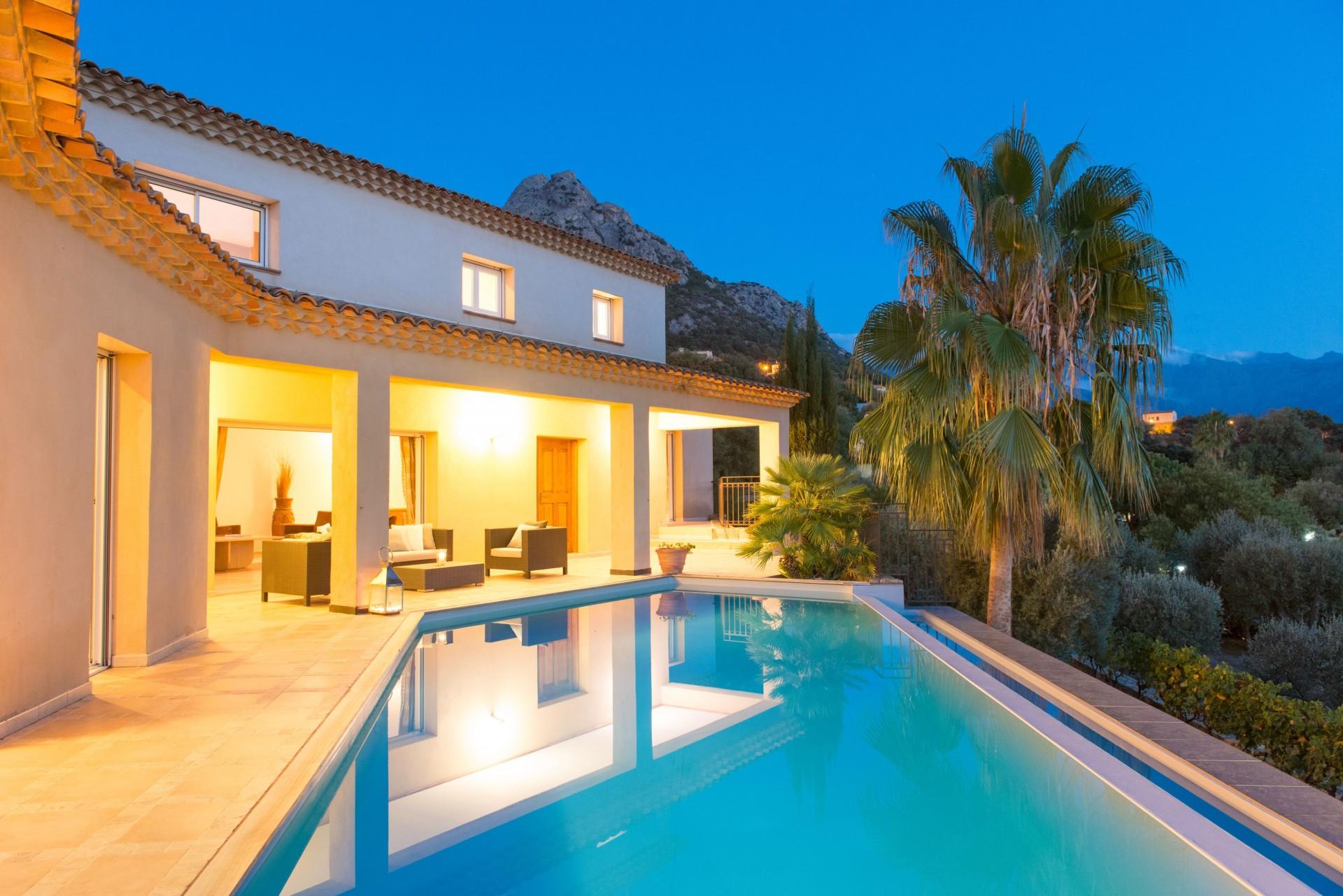 Calvi Location Villa Luxe Diademe Royal Piscine 5