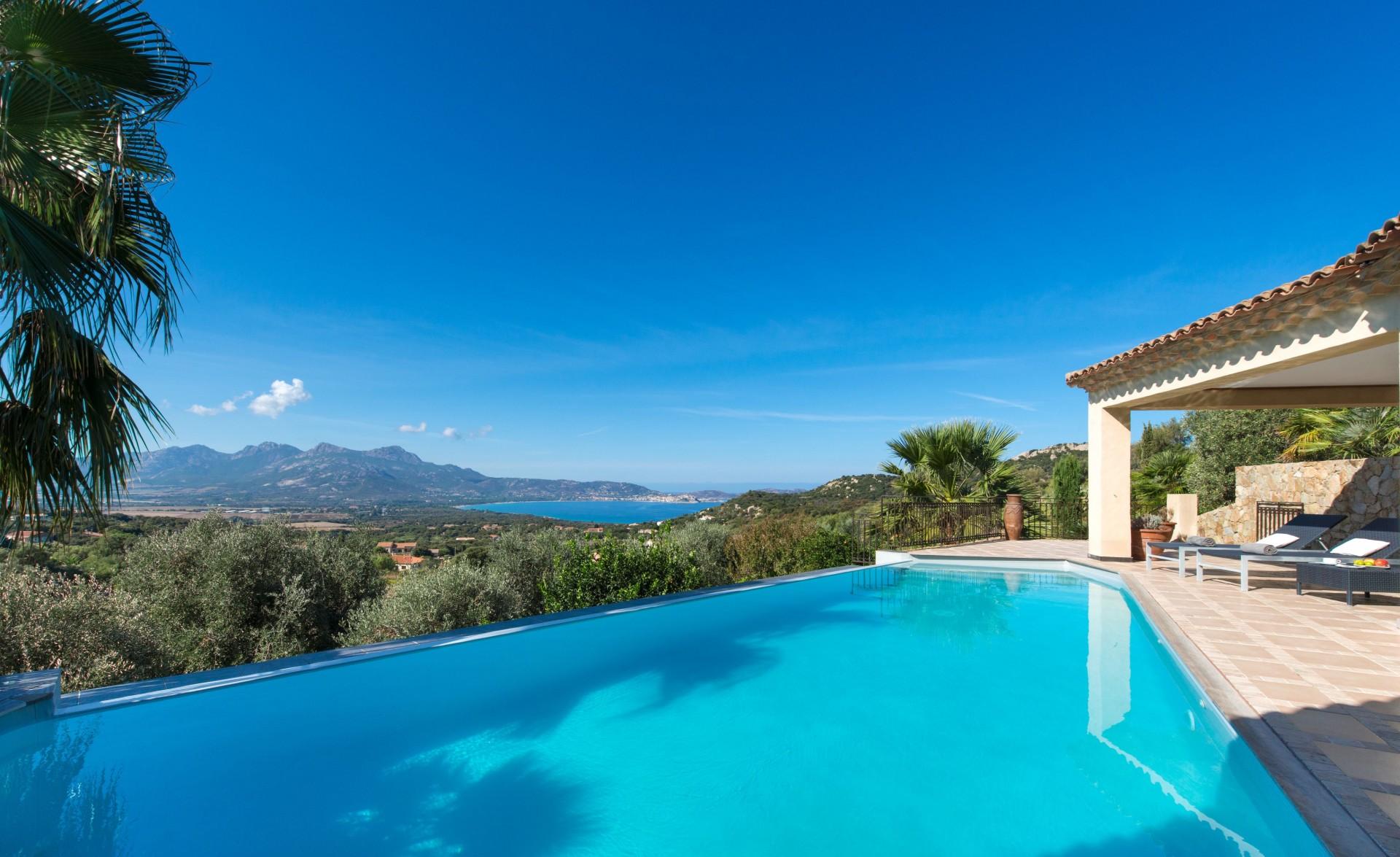 Calvi Location Villa Luxe Diademe Royal Piscine
