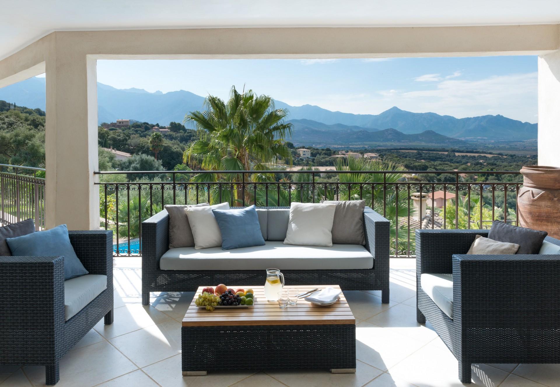 Calvi Location Villa Luxe Diademe Terrasse 2