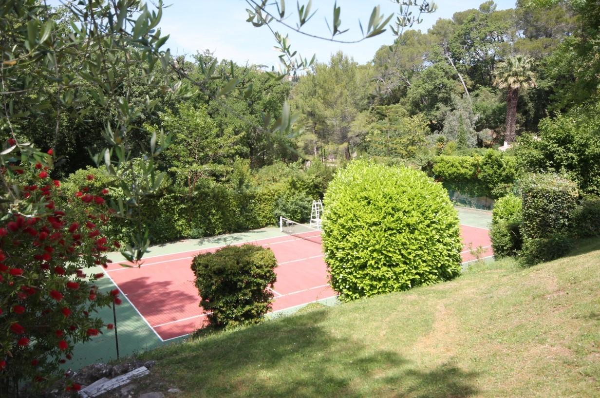 Cannes Luxury Rental Villa Calendula Tennis