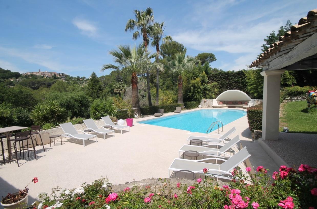Cannes Luxury Rental Villa Calendula Terrace