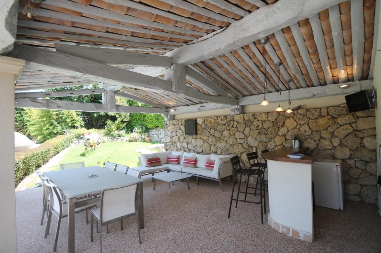 Cannes Luxury Rental Villa Calendula Terrace 3