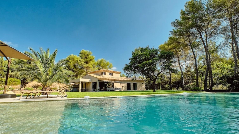 Cannes Luxury Rental Villa Cavanzite Pool