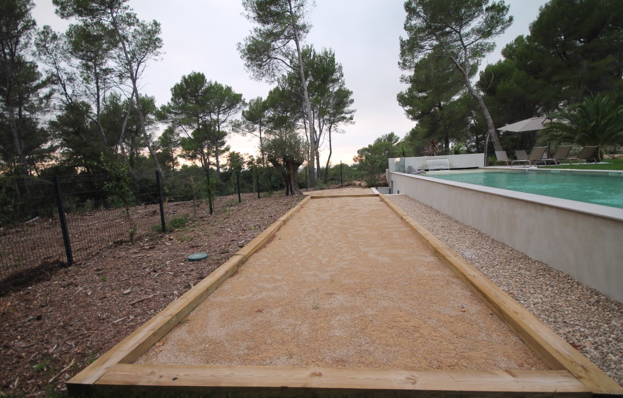 Cannes Luxury Rental Villa Cavanzite Petanque