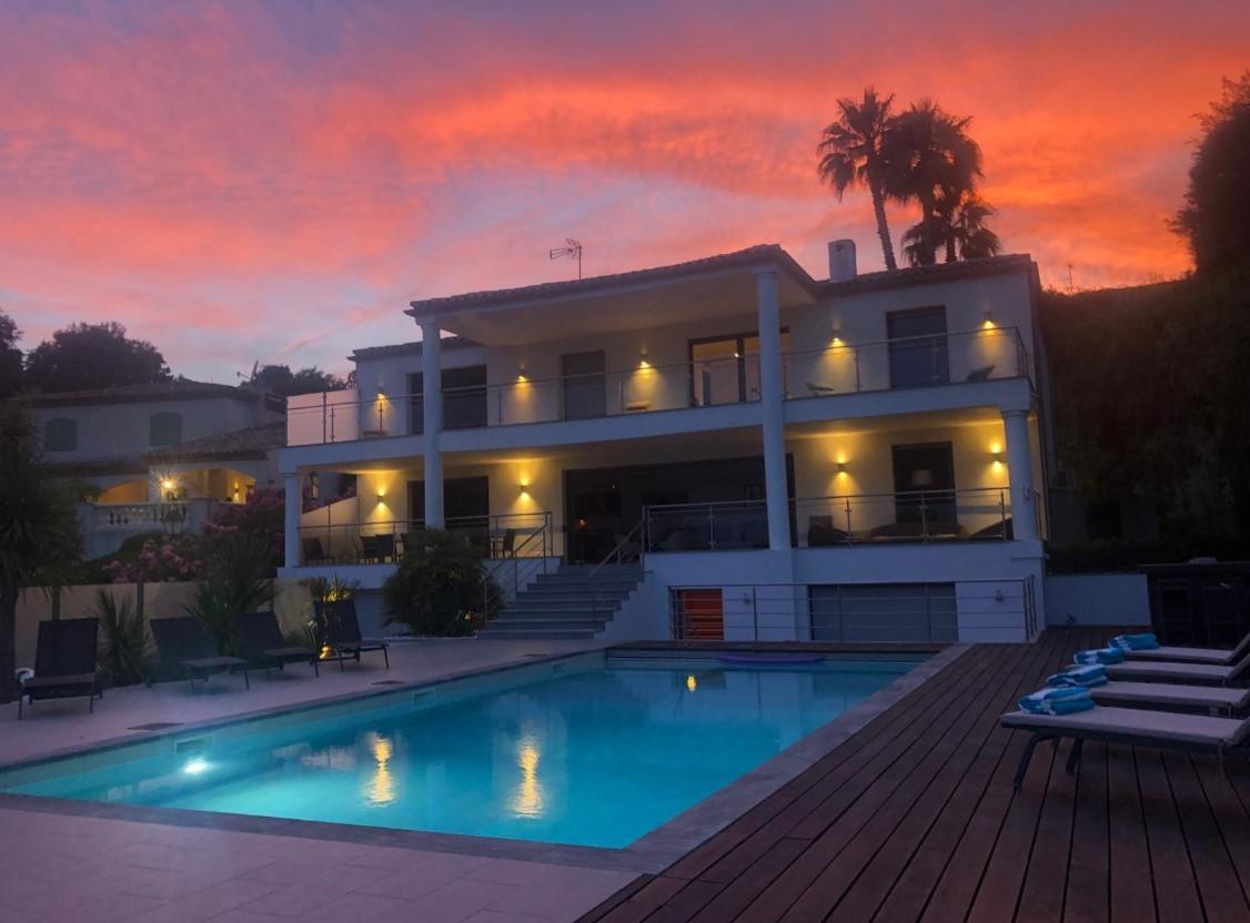Cannes Luxury Rental Villa Coquelourde Outdoor
