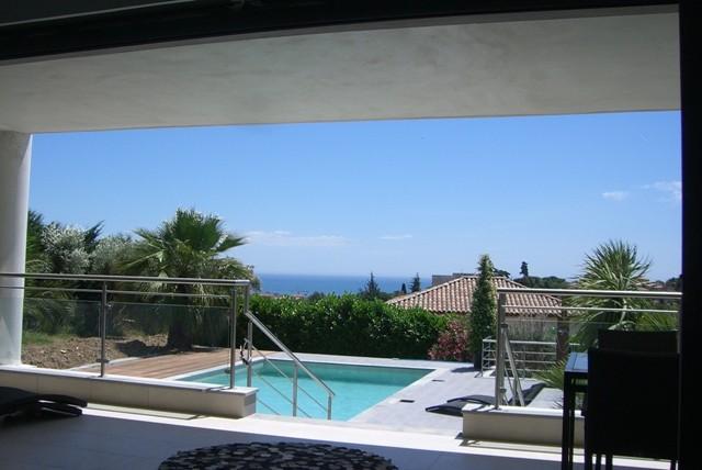 Cannes Luxury Rental Villa Coquelourde Terrace