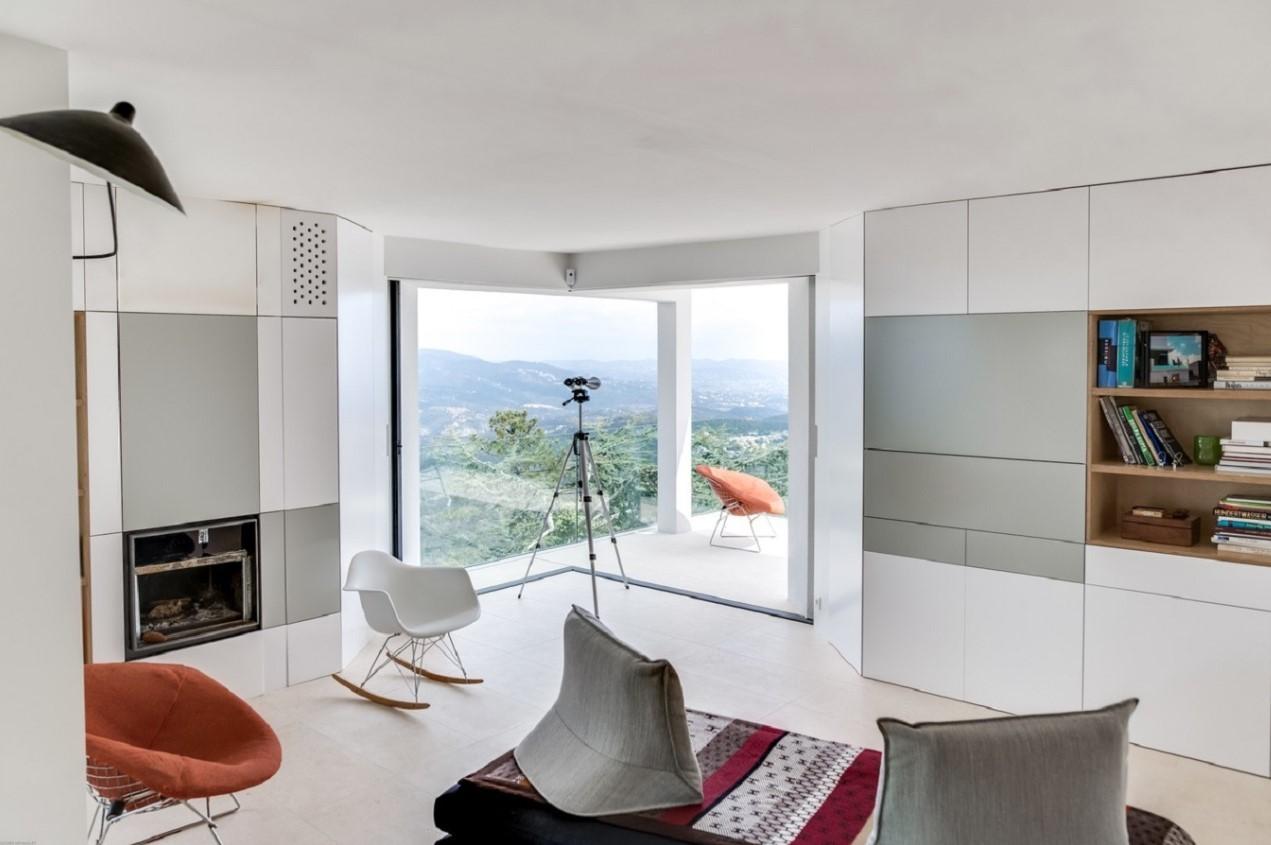 Cannes Location Villa Luxe Cordierite Séjour