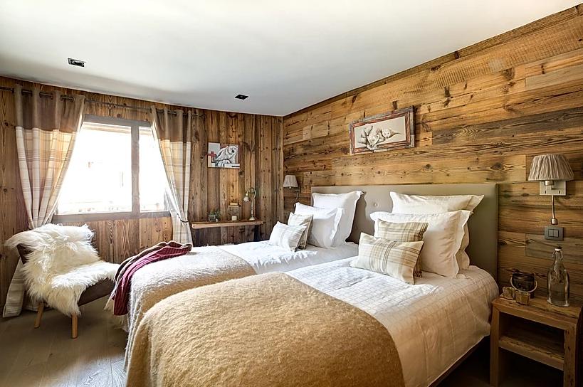 Chamonix Luxury Rental Appartment Courise Bedroom 2
