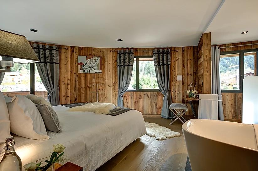 Chamonix Luxury Rental Appartment Courise Bedroom 3