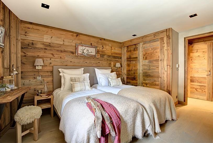Chamonix Luxury Rental Appartment Courise Bedroom 4