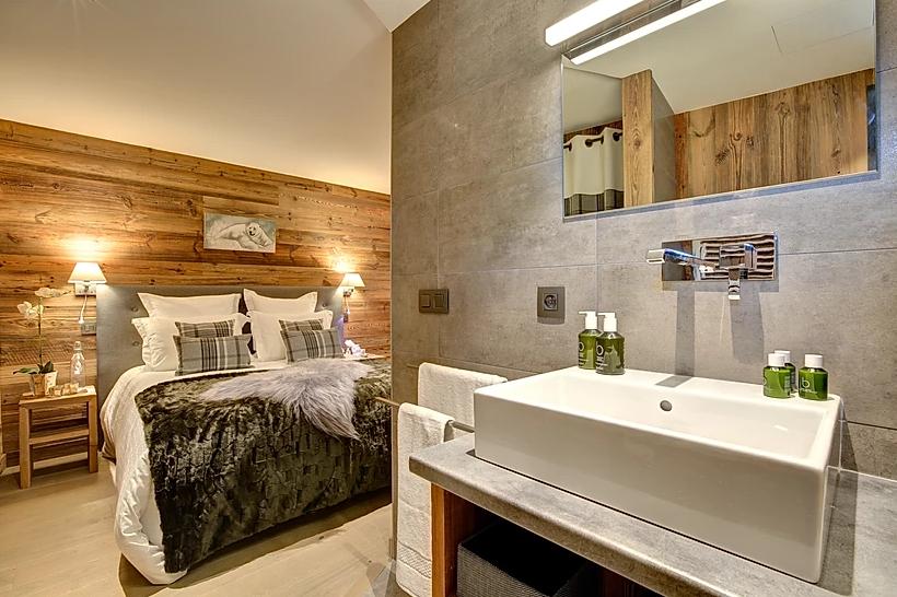 Chamonix Luxury Rental Appartment Courise Bedroom 6