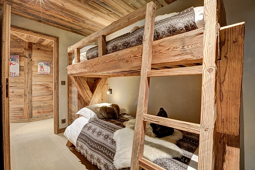 Chamonix Luxury Rental Appartment Courise Bedroom 7