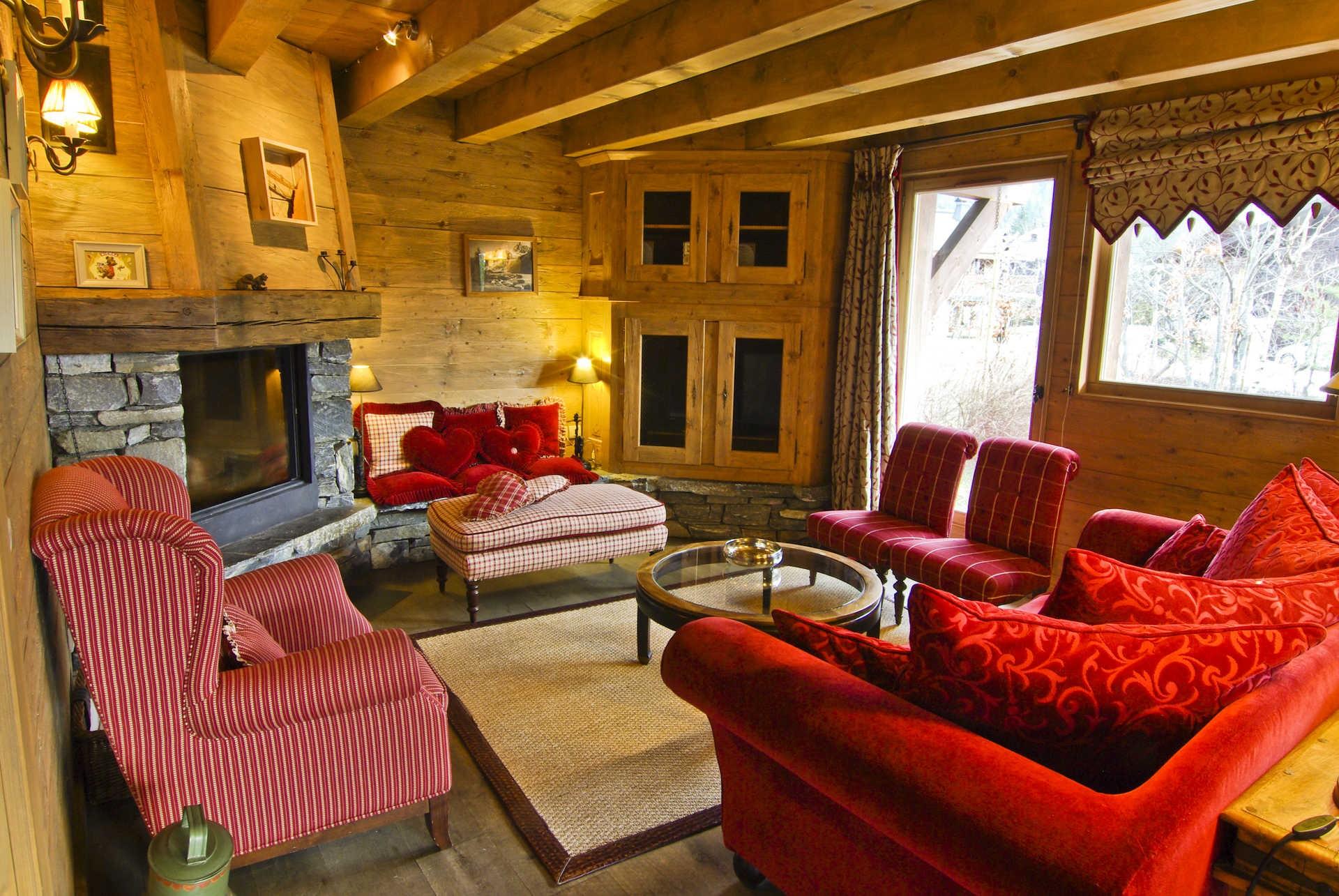 Chamonix Location Chalet Luxe Collinsite Séjour 2