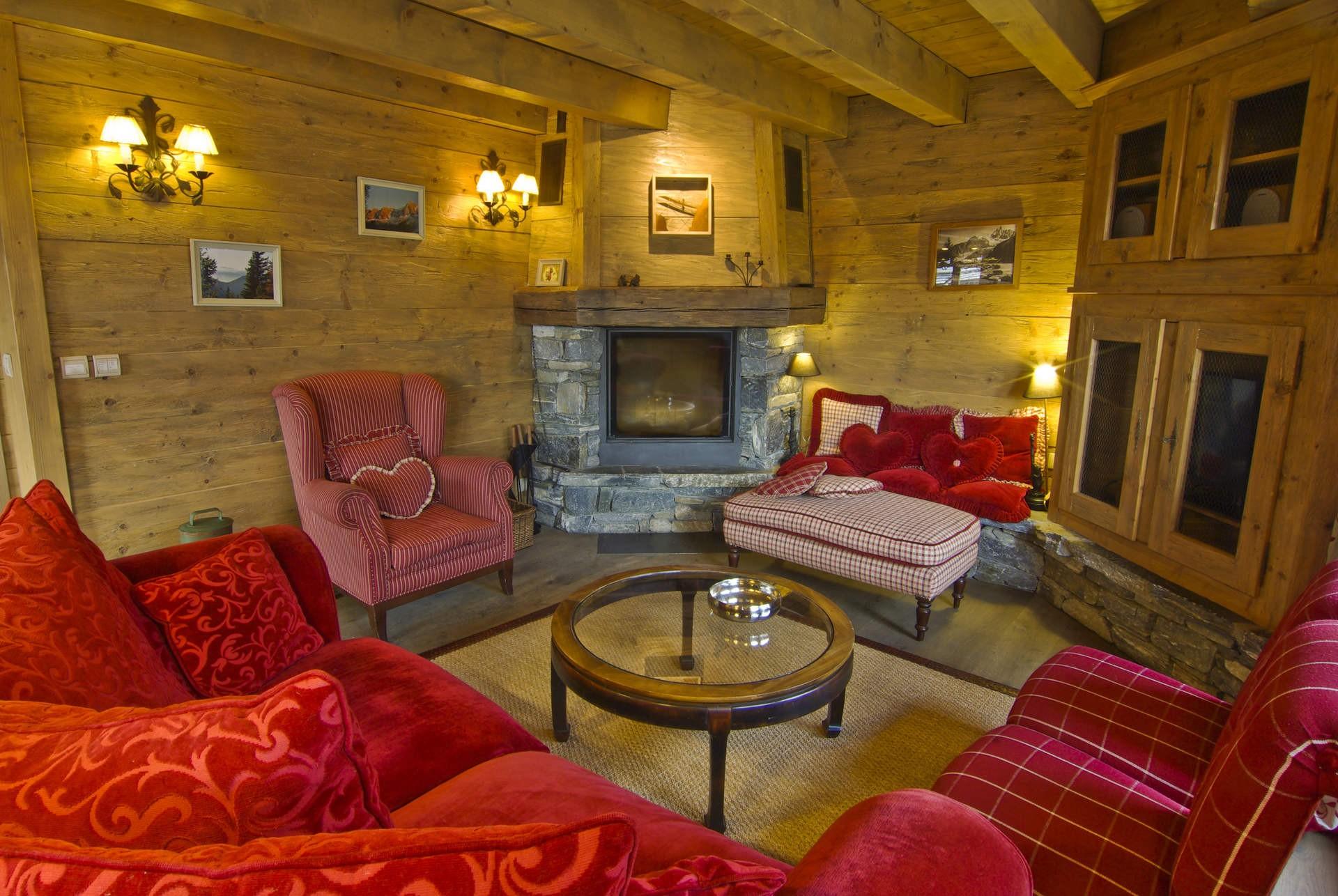 Chamonix Location Chalet Luxe Collinsite Séjour 3