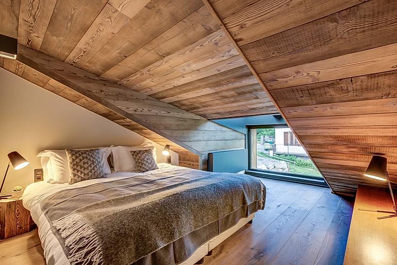 Chamonix Luxury Rental Chalet Coradi Bedroom 3