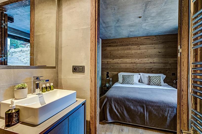 Chamonix Luxury Rental Chalet Coradi Bedroom
