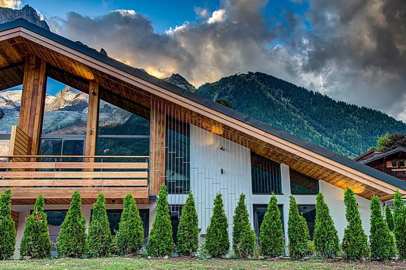 Chamonix Luxury Rental Chalet Coradi Exterior 2