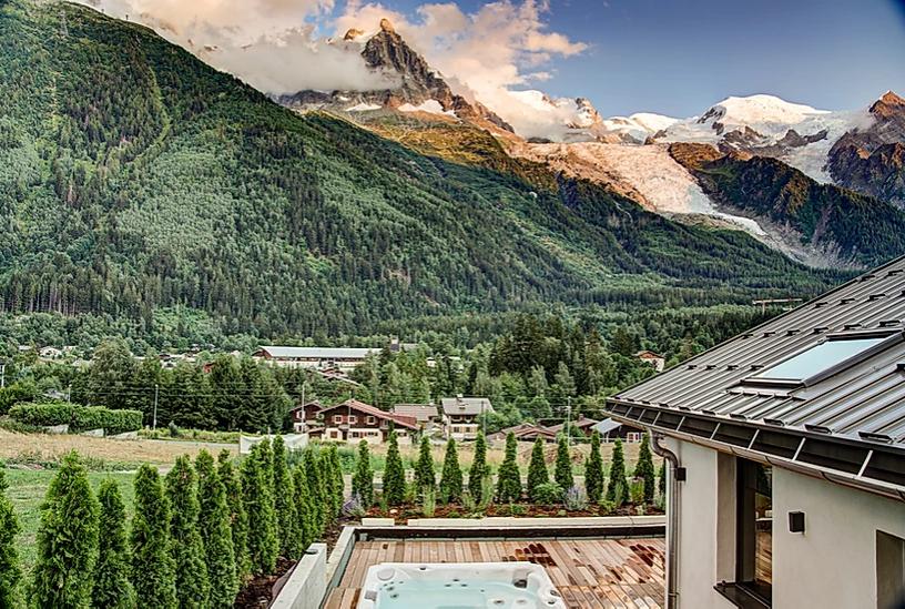 Chamonix Luxury Rental Chalet Coradi Exterior