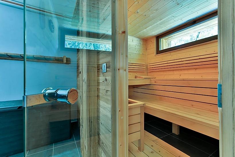 Chamonix Location Chalet Luxe Coraudin Sauna