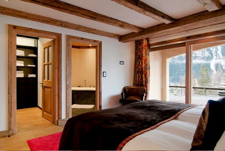 Chamonix Location Chalet Luxe Corise Chambre 4