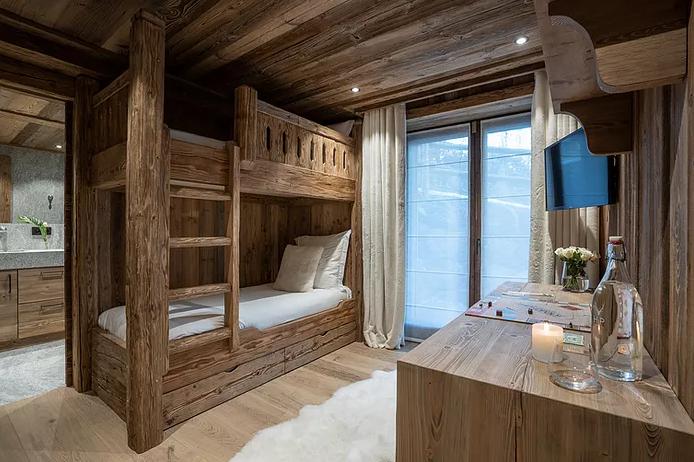 Chamonix Luxury Rental Chalet Courose Bedroom 3