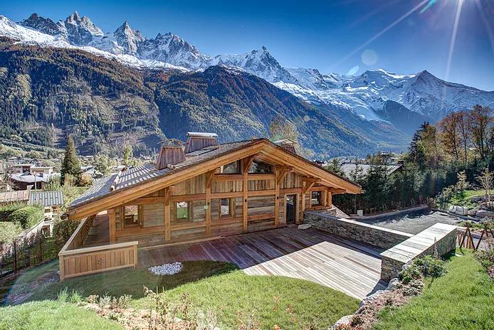 Chamonix Luxury Rental Chalet Courose Outdoor 2