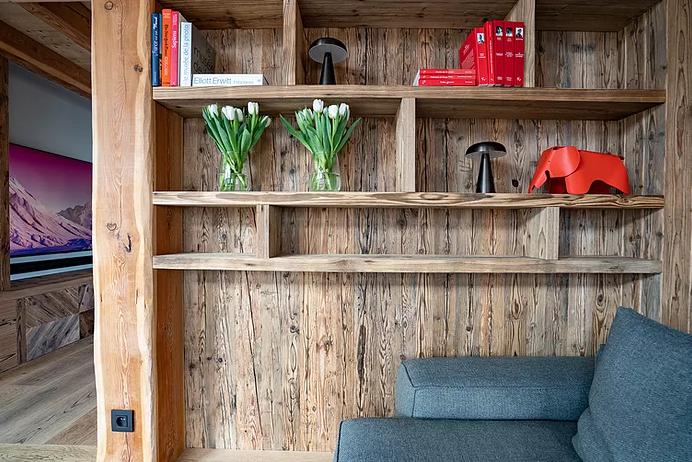 Chamonix Luxury Rental Chalet Courose Living Room