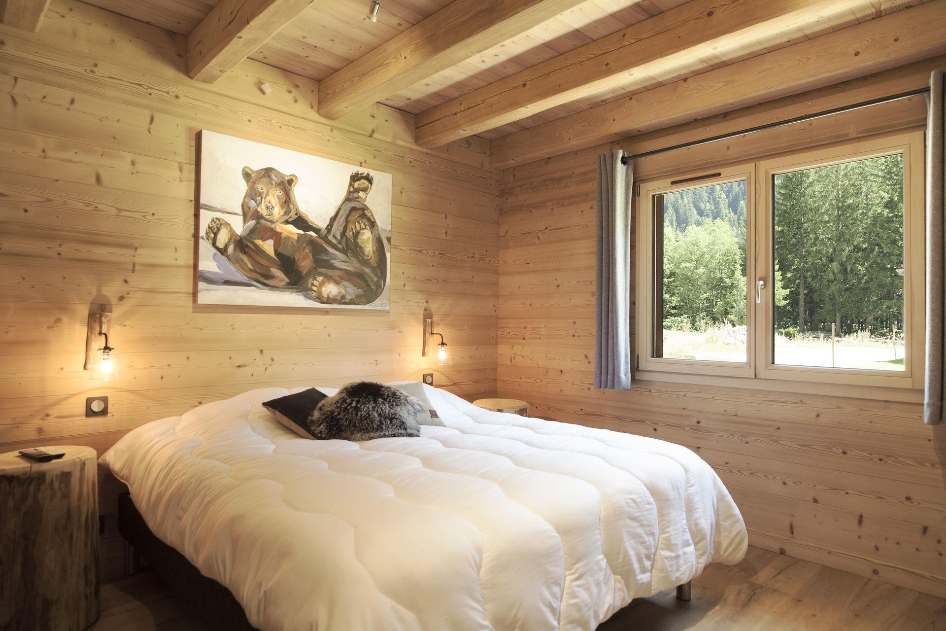 Chamonix Luxury Rental Chalet Cristy Bedroom 3