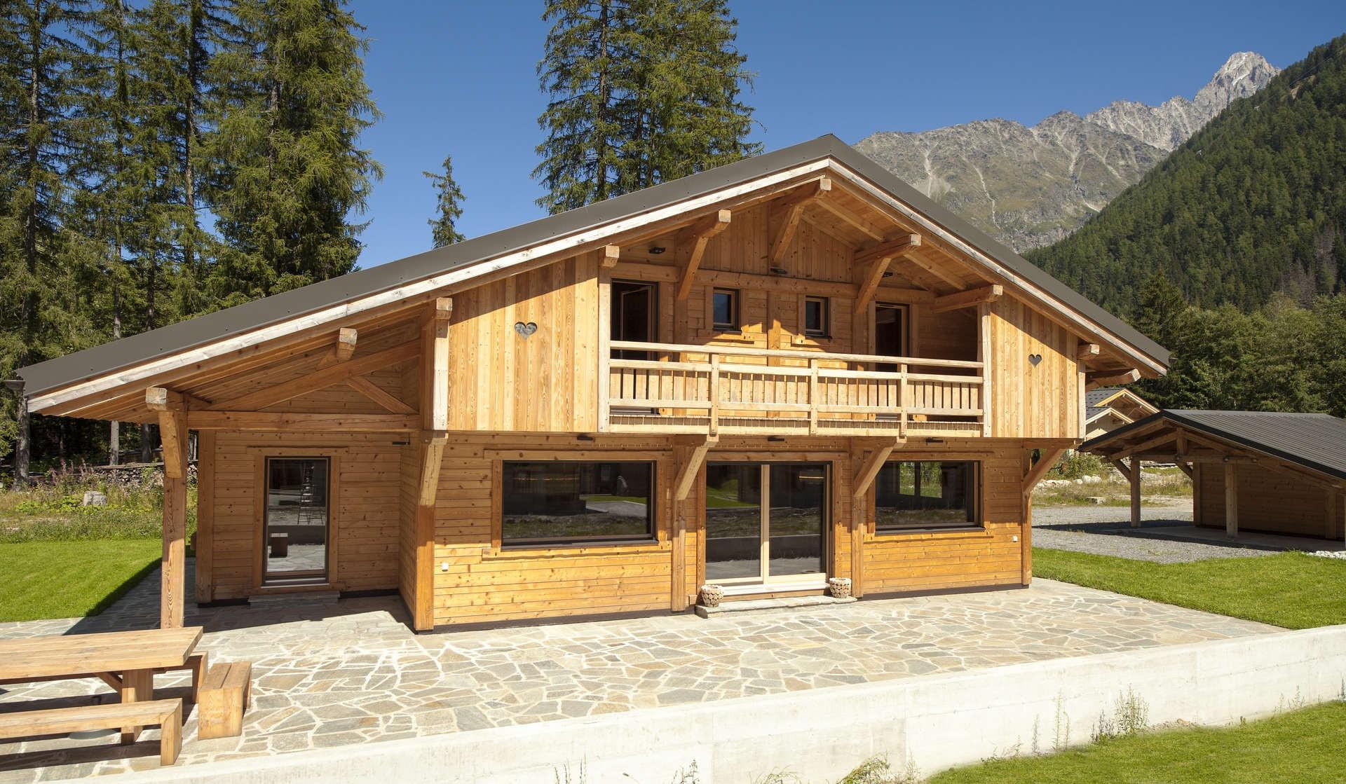 Chamonix Luxury Rental Chalet Cristy Exterior 2