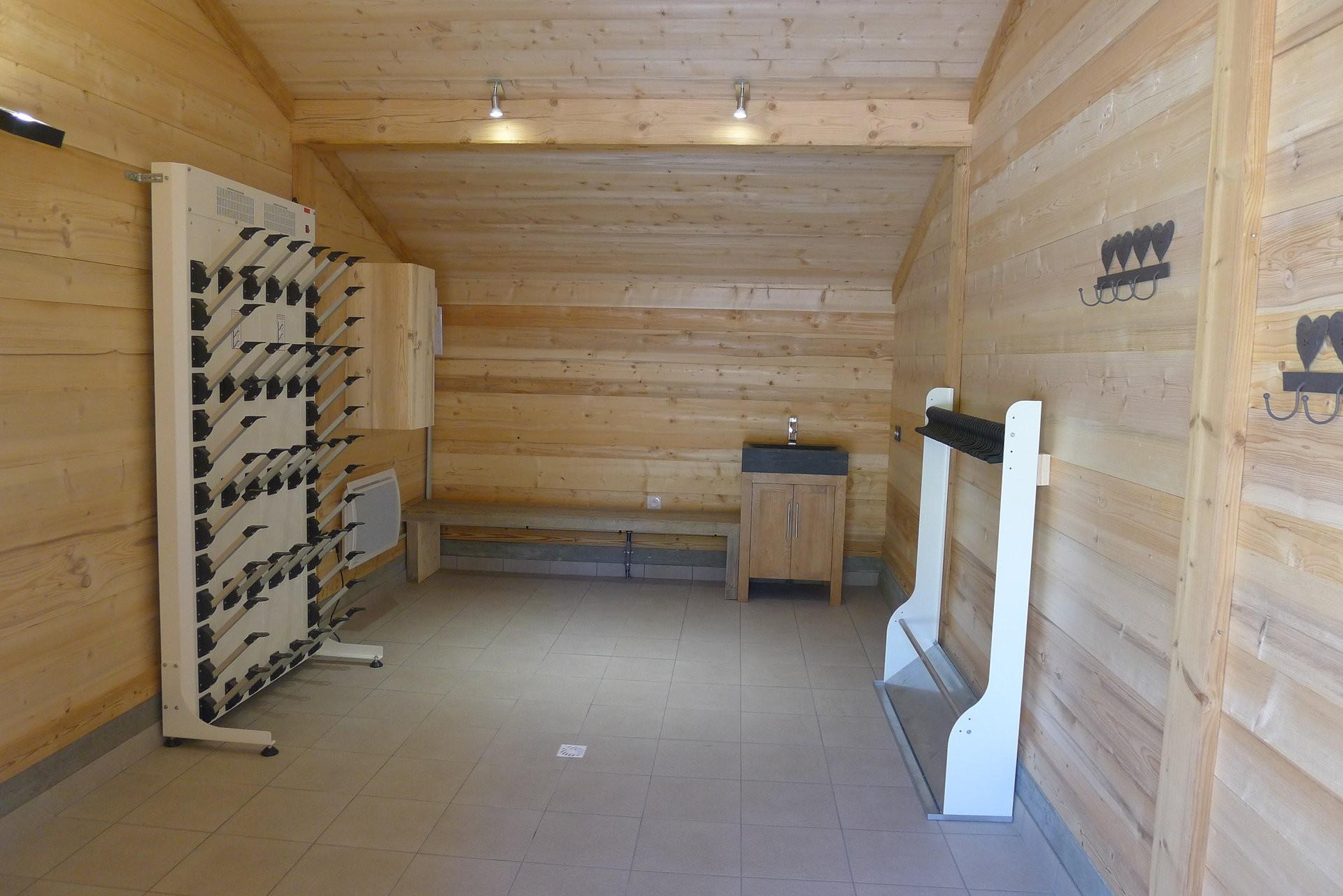 Chamonix Luxury Rental Chalet Cristy Ski Room