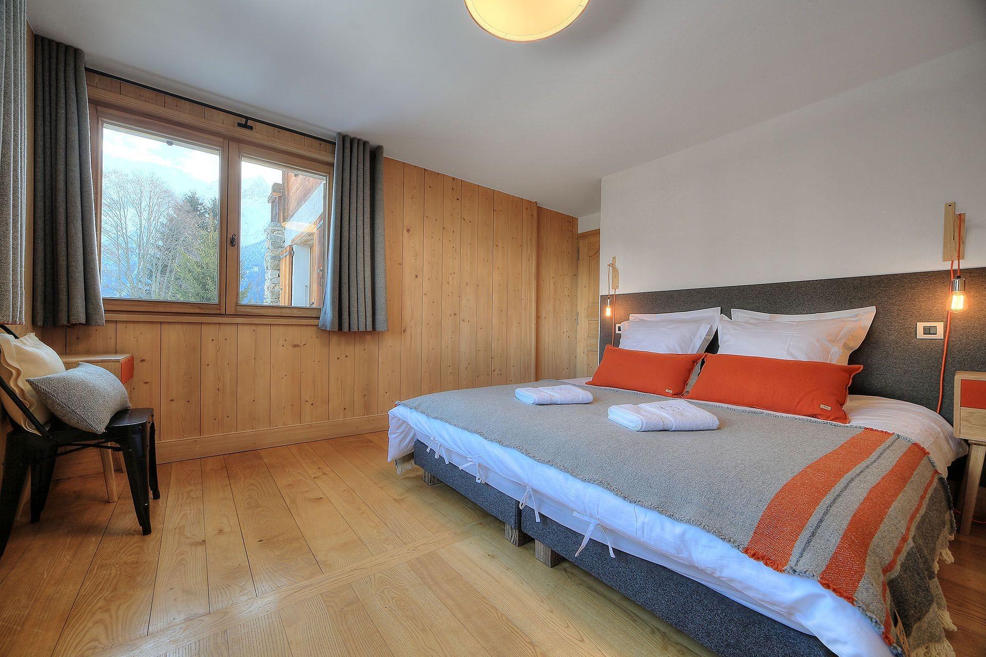 Chamonix Location Chalet Luxe Palambri Chambre1