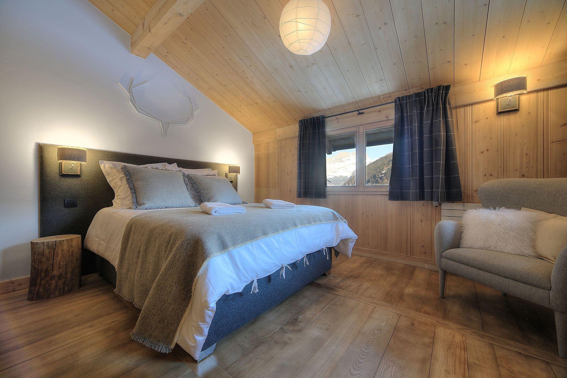 Chamonix Location Chalet Luxe Palambri Chambre2