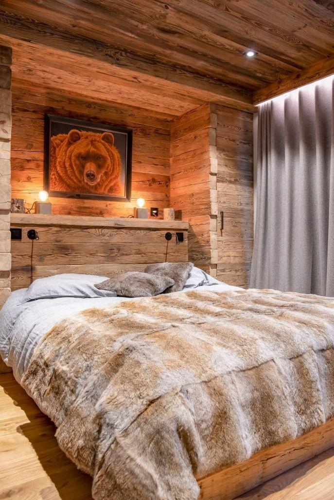 Chamonix Location Chalet Luxe Palambro Chambre1