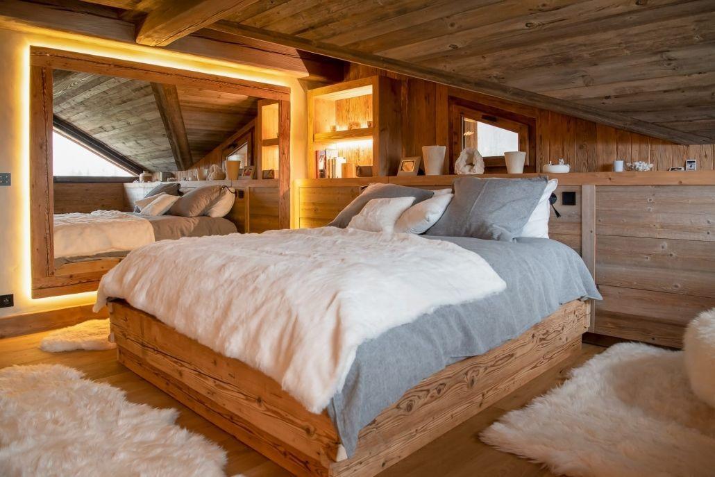 Chamonix Location Chalet Luxe Palambro Chambre2
