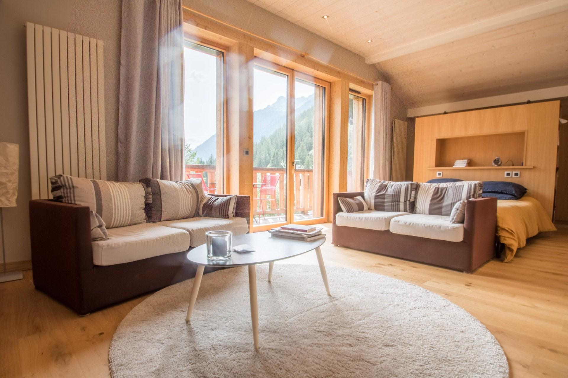 Chamonix Location Chalet Luxe Silène Chambre 3