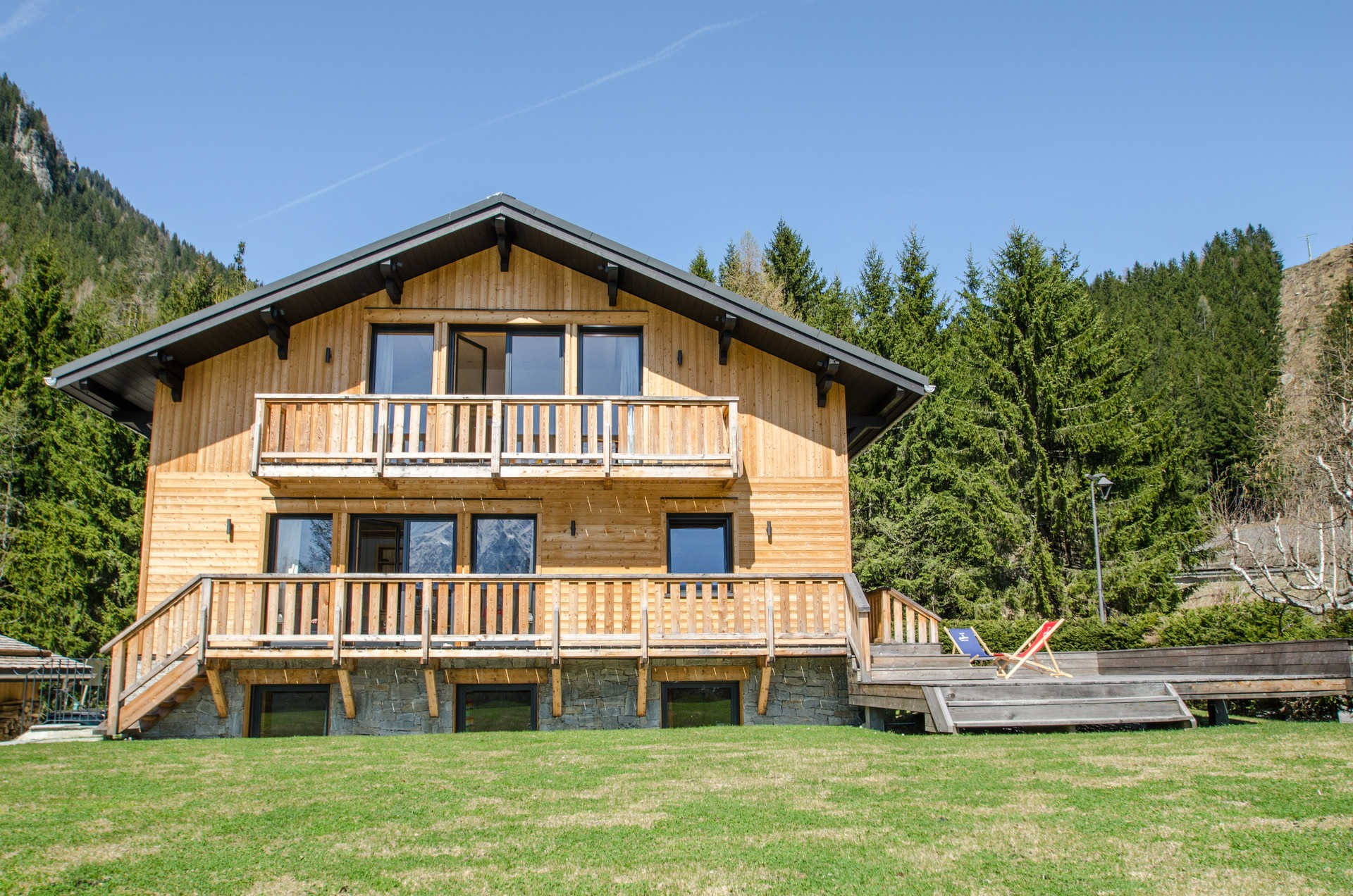 Chamonix Location Chalet Luxe Silène Jardin 2